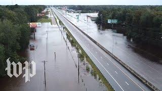 '200-year flood:' The Carolinas after Florence