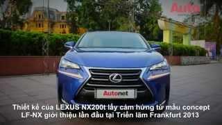 Cận cảnh LEXUS NX200t