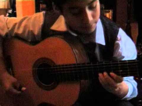 Clases de guitarra - vals peruano Con locura(Cholo Berrocal)