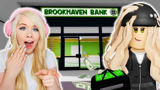 I ROBBED THE BANK IN BROOKHAVEN! (ROBLOX BROOKHAVEN RP)