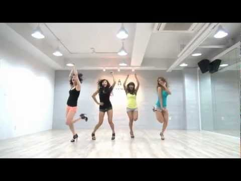 SISTAR 'So Cool' mirrored Dance Practice
