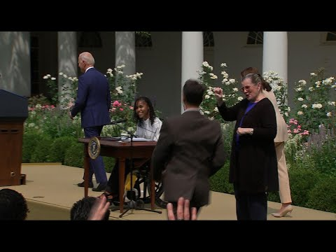 Biden celebrates Americans with Disabilities Act
