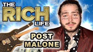 Post Malone | The Rich Life | LA & Utah Mansion, Lambo, Rolls Royce & more