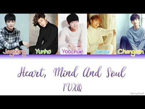 TVXQ (동방신기) - Heart, Mind and Soul [Colour Coded Lyrics] (Kan/Rom/Eng)