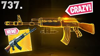 *NEW* WEAPON IS NUTS..!!! - Fortnite Funny WTF Fails and Daily Best Moments Ep.737