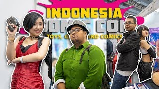 COMIC CON Indonesia 2019 - Gema Lomba CTR & Ketemu Kamuh-Kamuh Sekalian 😘
