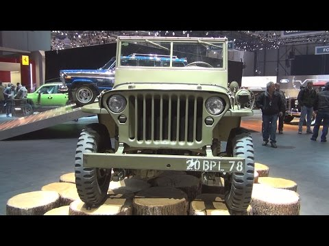 Jeep Willys-Overland military MB 1941 Exterior and Interior in 3D