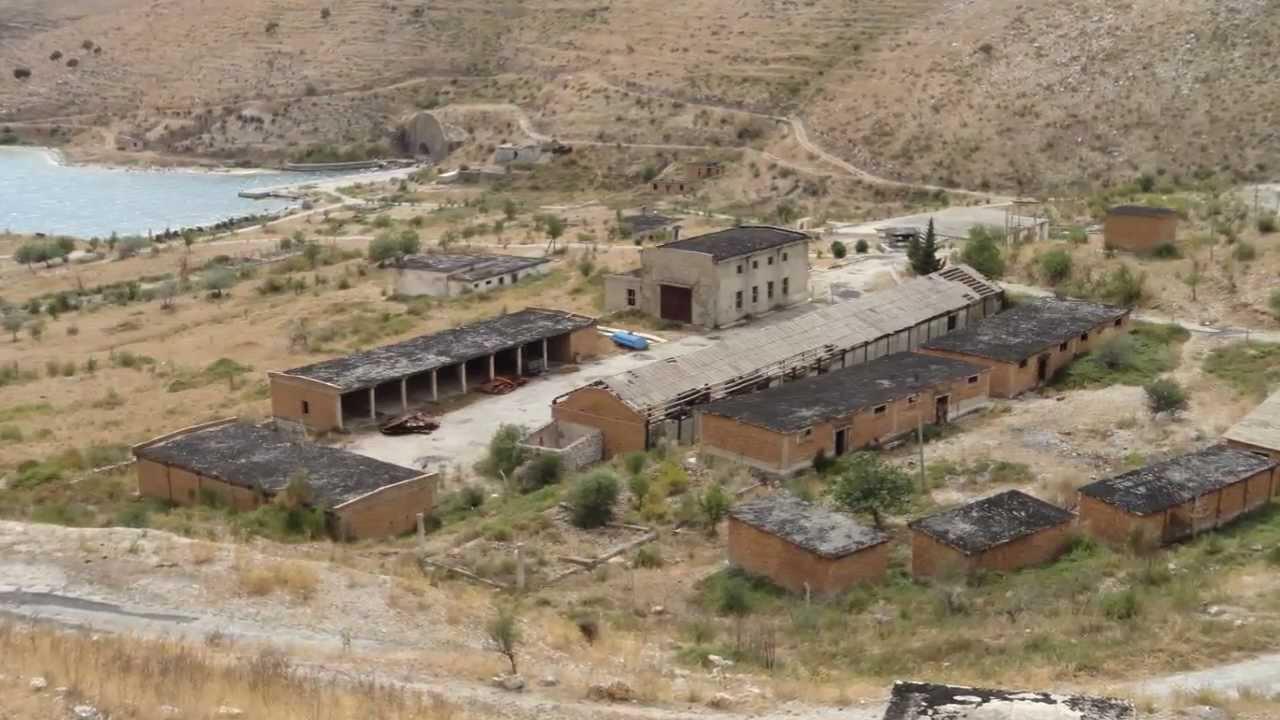 Abandoned Naval Base Porto Palermo Albania 2012 Youtube