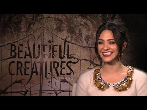 'Beautiful Creatures' Emmy Rossum Interview