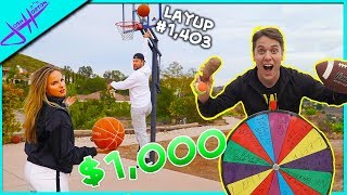 Last To Miss a Layup Wins $1,000!