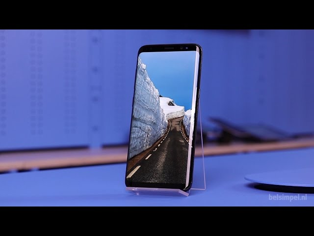 Belsimpel.nl-productvideo voor de Samsung Galaxy S8 G950 Silver