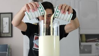 1.25 GALLON Vanilla Milkshake (6,090 Calories)
