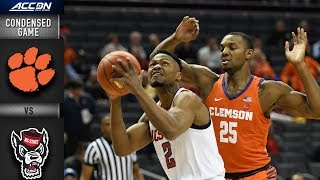 Clemson vs. NC State Condensed Game | 2018-19 ACC Basketball