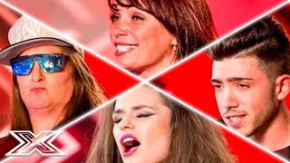 X Factor UK Auditions Week 1 | Honey G, Christian Burrows, Emily Middlemas & MORE!