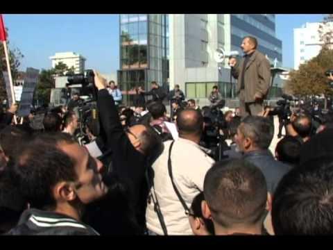 Fjala e Ismajl Kurteshi në protestën kundër dhunës qeveritare dhe brutalitetit policor