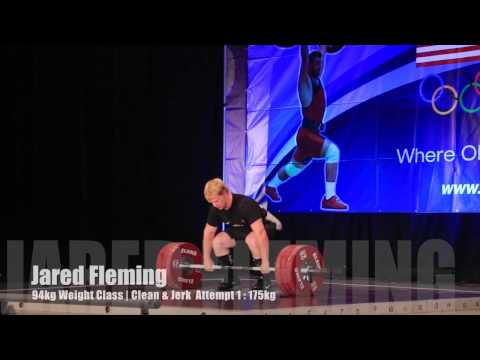 Jared Fleming 94kg | 2014 USAW National Championships