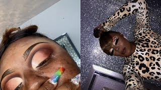 White Outlined Ombre CutCrease | The Best Eyeliner | Briana Marie