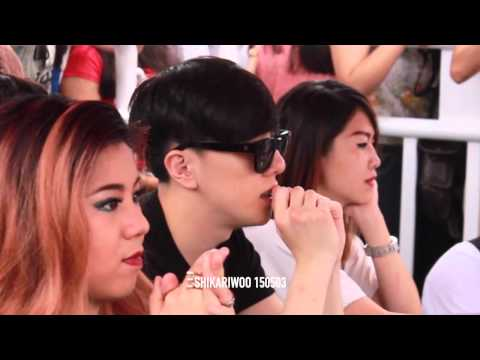 [HQ] 150503 Kasper (reaction to Sistar CD) @ Korean Dream Concert