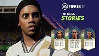 FIFA 18 - FUT ICONS Stories ft. Ronaldinho Trailer