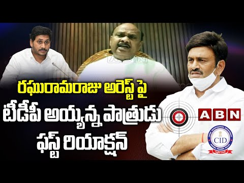 Ayyanna Patrudu questions MP Raghurama Krishna Raju's arrest