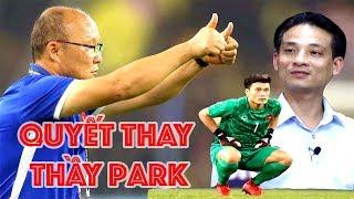HLV Park Hang Seo để bác sĩ Thuỷ quyết định Bùi Tiến Dũng thi đấu hay không