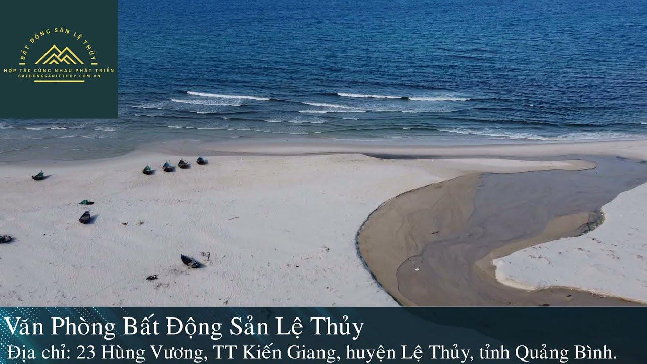 Đất biển Ngư Thủy Bắc - Quảng Bình, lô góc 2 mặt tiền đường 2 oto giá chỉ hơn 1 tỷ video