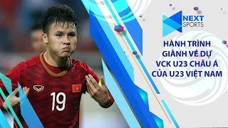 Hành trình giành vé dự VCK U23 Châu Á 2020 đầy thuyết phục của Đội tuyển U23 Việt Nam