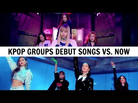 KPOP DEBUT SONGS VS NOW | 2018 Edition
