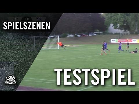 BFC Preussen - VSG Altglienicke (Testspiel) - Spielszenen | SPREEKICK.TV
