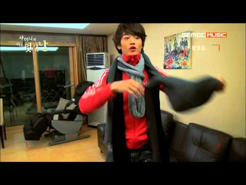 SHINee`s one fine day #1 - the night before they left in dormitory
