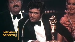 Peter Falk's Hilarious Acceptance Speech for COLUMBO | Emmys Archive (1972)
