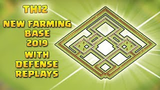 NEW Town Hall 12 (TH12) Base 2019 with Replay Proof | TH12 Farming base | Clash of Clans