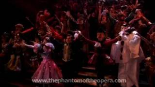 Phantom of the Opera London footage