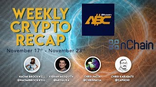 Weekly crypto recap pt 1: ABC checkpoints, mining in elections, and other news!