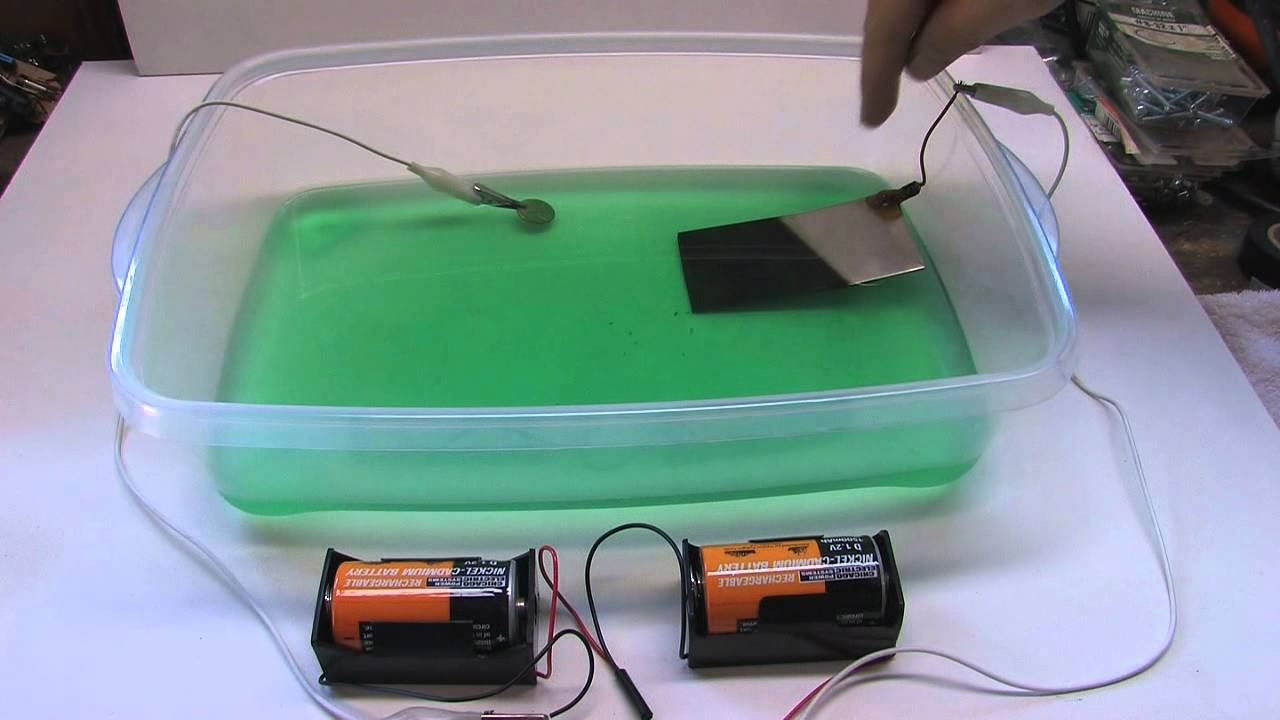 Easy Nickel And Copper Electroplating Method Youtube