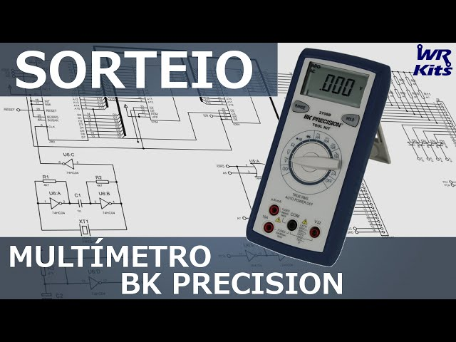 SORTEIO DO MULTÍMETRO BK PRECISION!