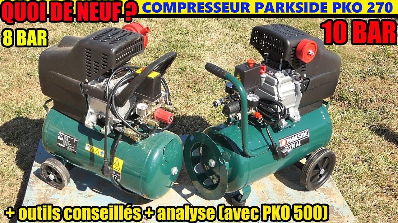 Utiliser Un Compresseur Parkside Pko 270 500 Scheppach Lidl