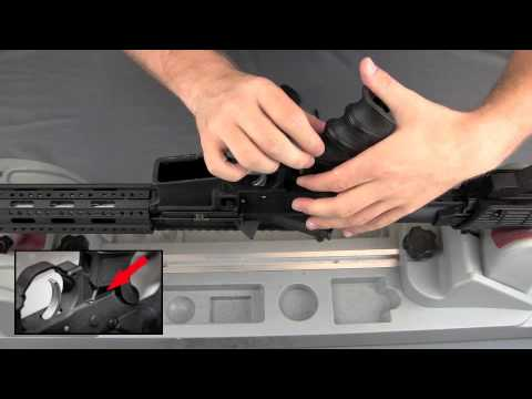 ATI AR-15 Scorpion Recoil Grip Installation