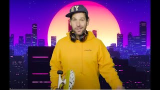 Watch certified young person Paul Rudd deliver PSA on mask wearing