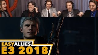 Devil May Cry 5 - Easy Allies Reactions - E3 2018