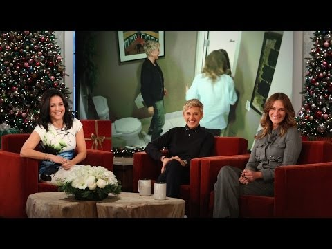 Ellen And Julia Roberts Scare Julia Louis-Dreyfus - Smashpipe Entertainment