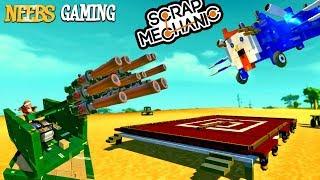 Scrap Mechanic - Air Raid!