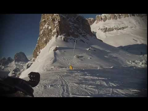 Free ride arabba/marmolada whit gopro hero3 white edition