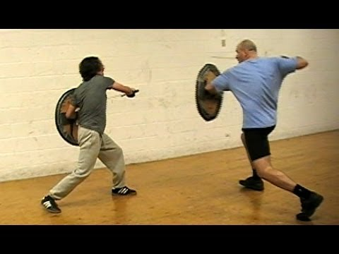 GORAN STJEPANOVIC - Sword & Shield Training for Film at Rapier Wit 1
