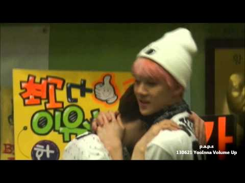 130621 Sehun, DO, Suho - Hug Hug Hug @ Yooinna Volume Up