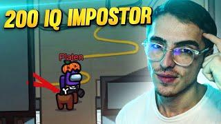 200 IQ İMPOSTER OYNAMAK (Among Us)