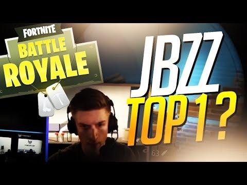 JBZZ ENFIN TOP 1 ? 🥇 TOURNOI FORTNITE FR PAR EPIC GAMES ...