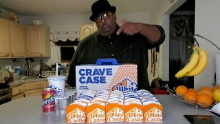 Big Smoke eats a White Castle Crave Case! (Collab w/ Raina is Crazy)
