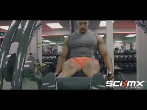 Arran Arogundade's Leg Workout with X-PLODE HARDCORE