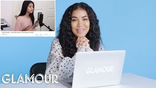 Jhené Aiko Watches Fan Covers On YouTube | Glamour